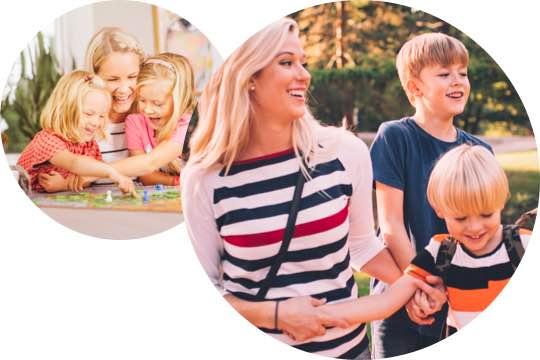 Karta för barnvakt, barnpassning
