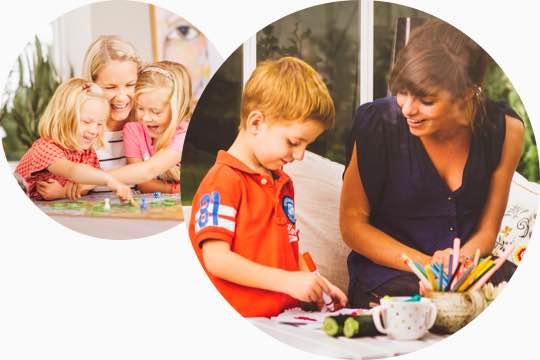 myNanny barnvakt & barnpassning för en barnflicka / nanny